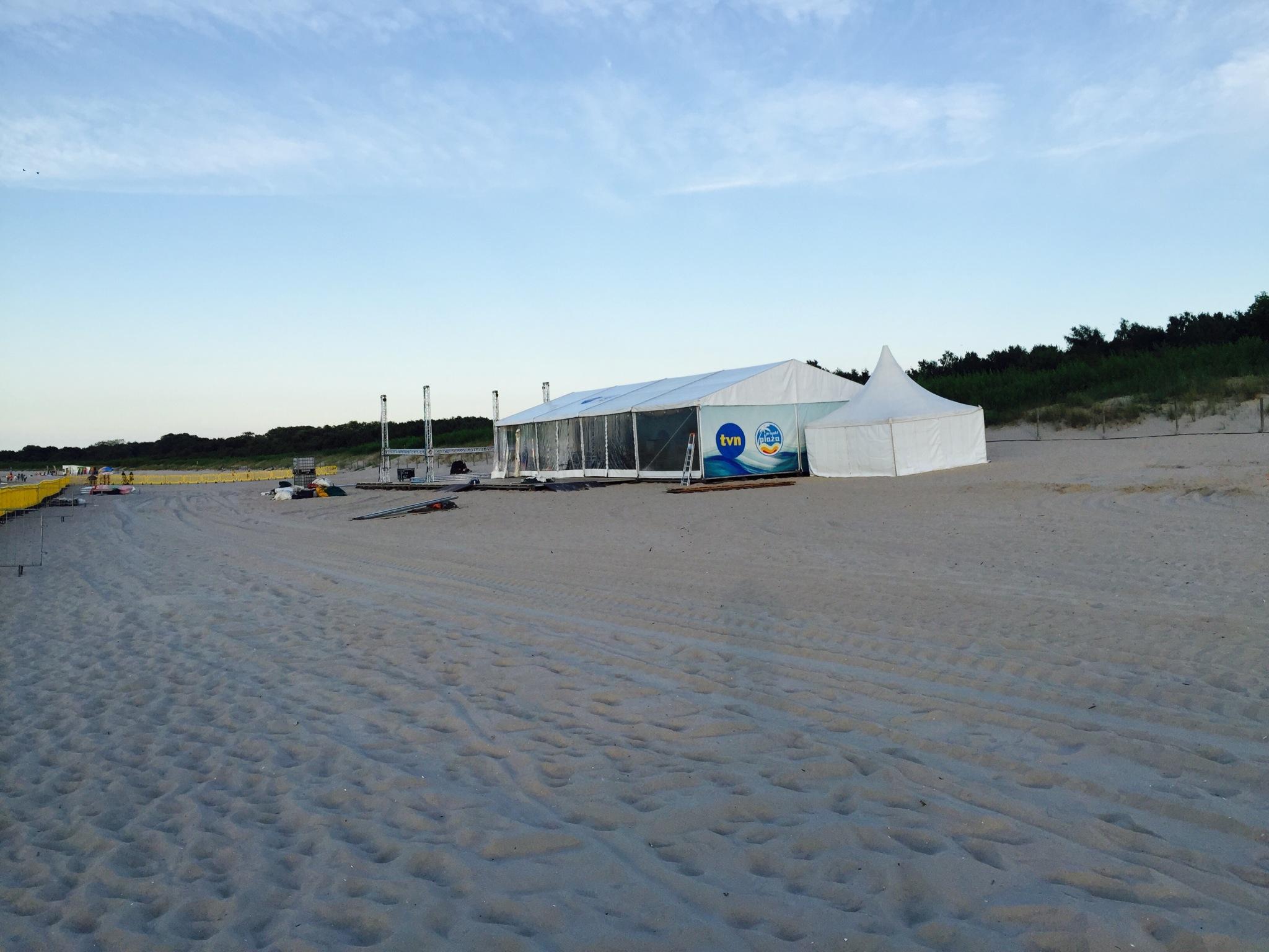 """Miasteczko """"Projektu Plaża"""" w Świnoujściu"""