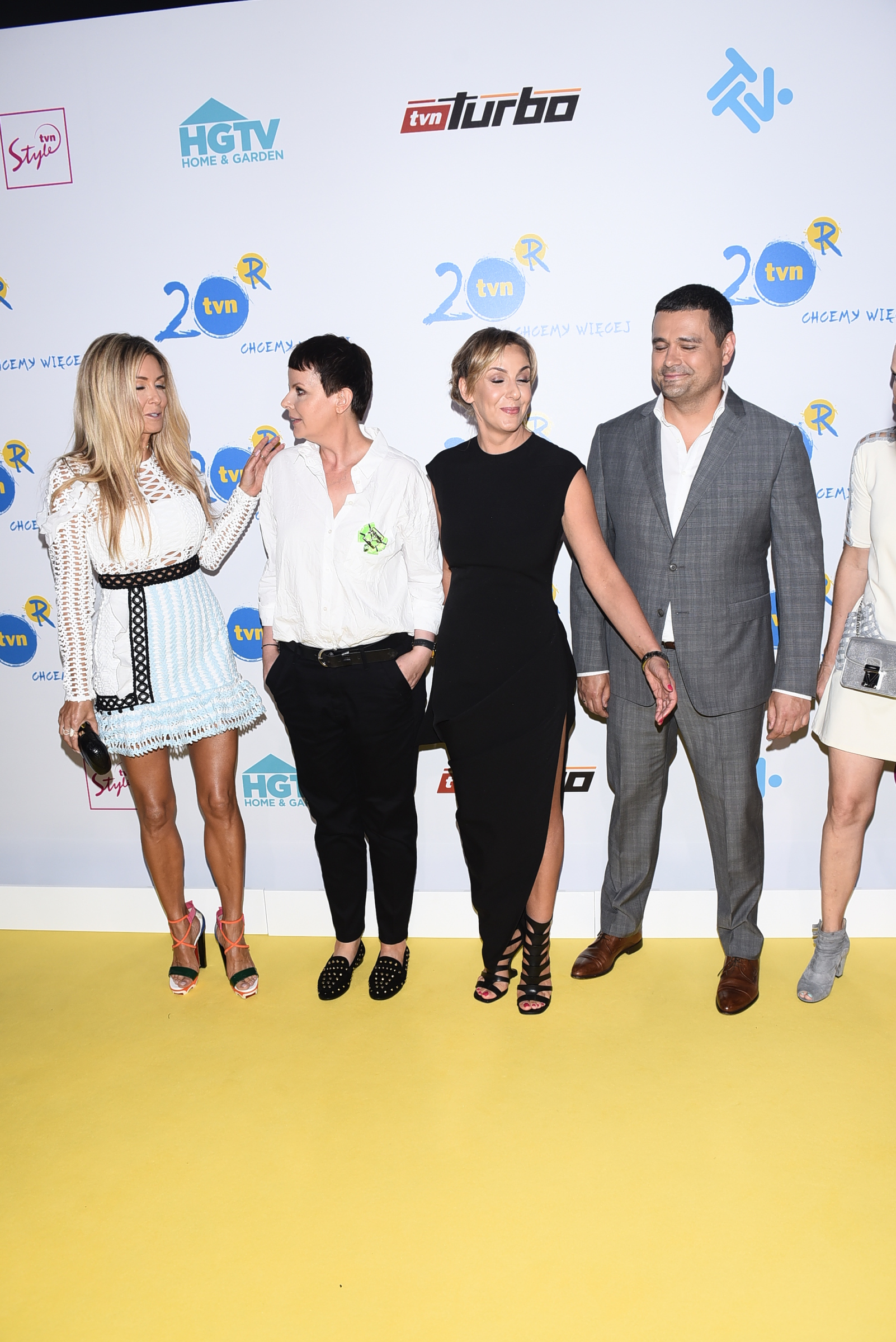 Gwiazdy TVN Style na prezentacji oferty programowej grupy TVN