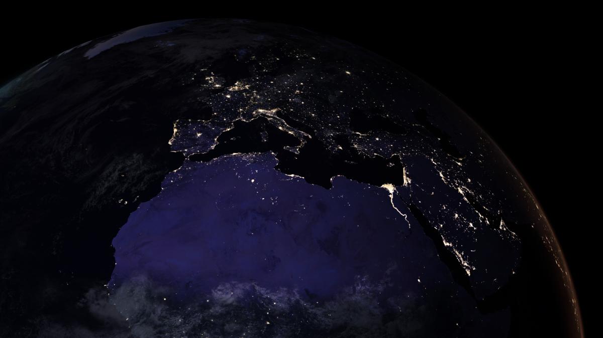 Zadziwiajaca Mapa Ziemi Z Kosmosu Widac Nas Nawet W Nocy